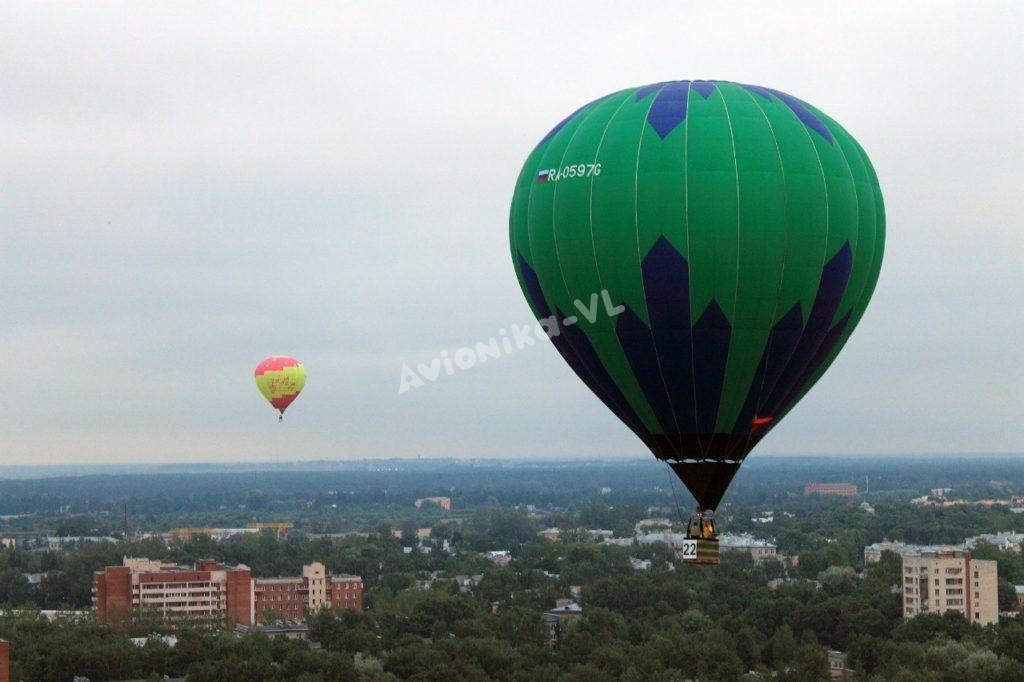 Воздушные шары аэростаты над СПб от Авионики-ВЛ