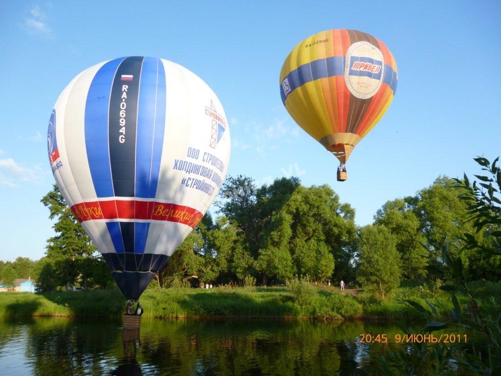 полет на воздушном шаре в Виликих Луках от Авионики-ВЛ