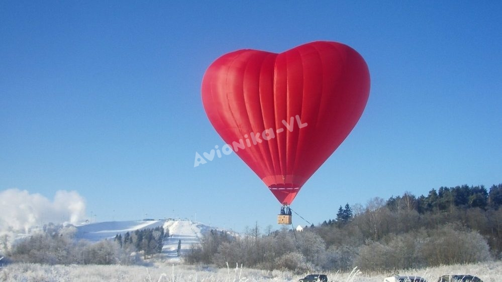 """Полет на воздушном шаре """"Сердце от Авионики-ВЛ"""""""