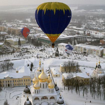воздушный полет на шаре