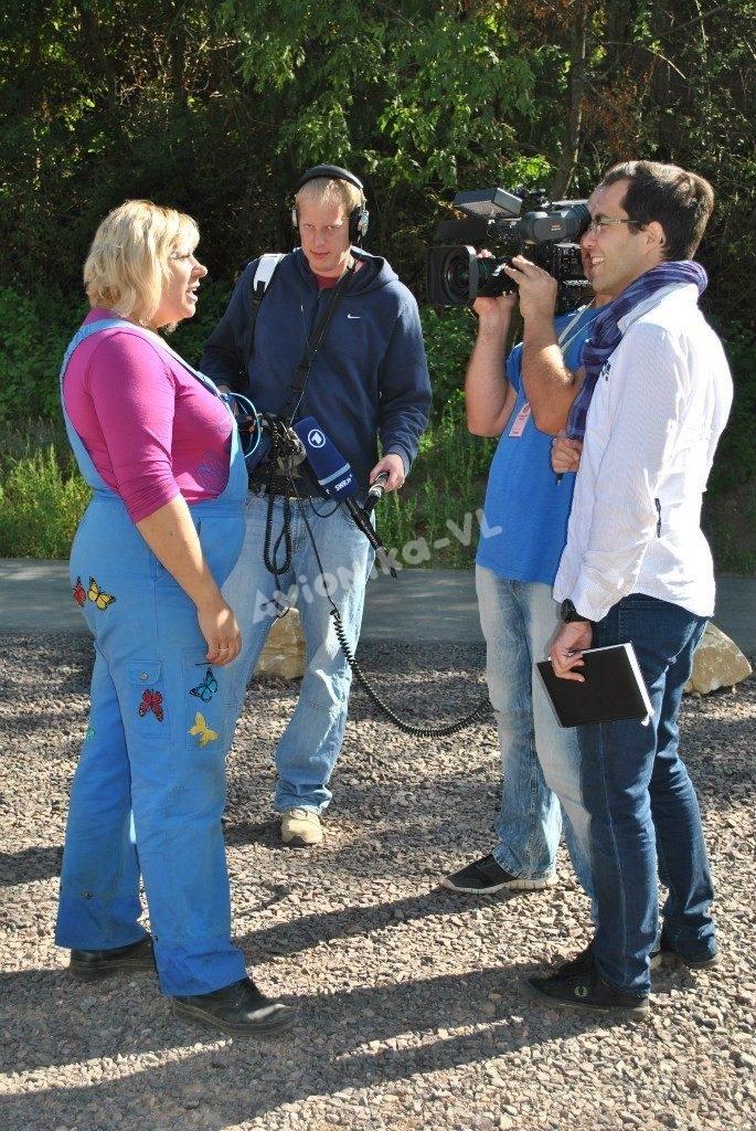 Мастер спорта по воздухоплаванию дает интервью