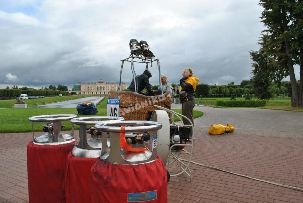 Оборудование и корзина воздушного шара