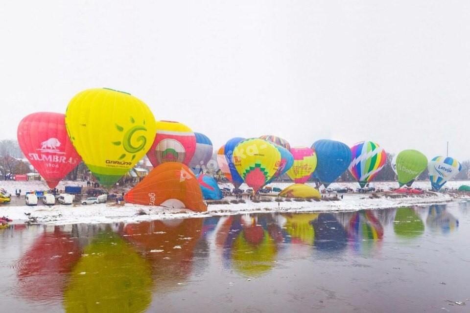 воздушные шары слет