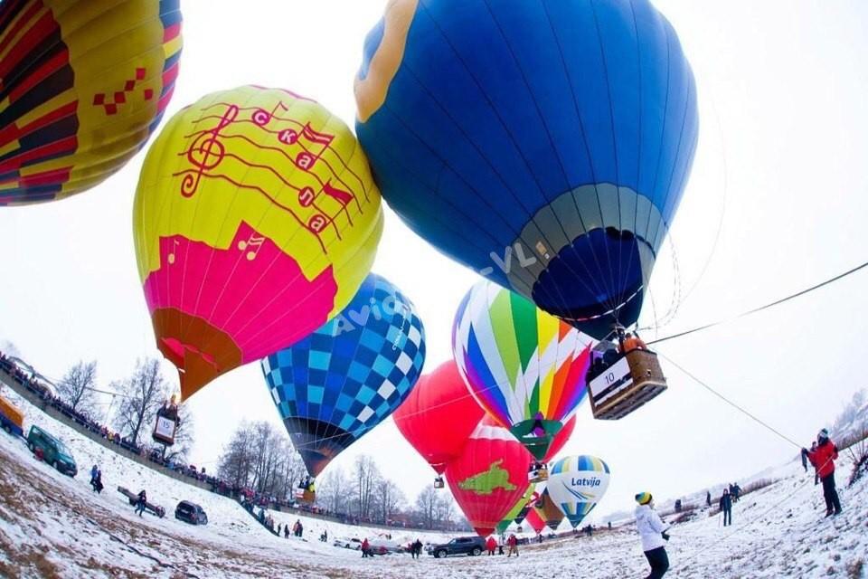Подъем воздушных шаров Авионика-ВЛ