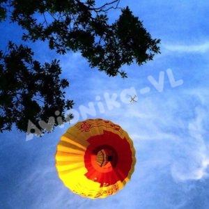 Воздушный шар Авионика-ВЛ в небе