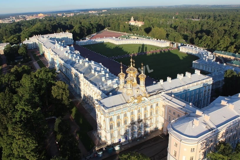 Полет на воздушном шаре на Екатерининским дворцом от Авионики-ВЛ