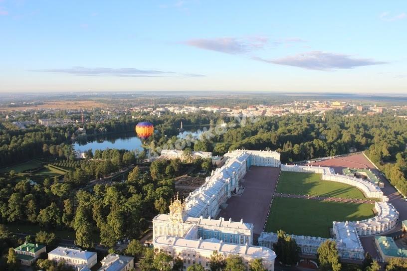 "Полет на воздушном шаре над ""Царским Селом"""