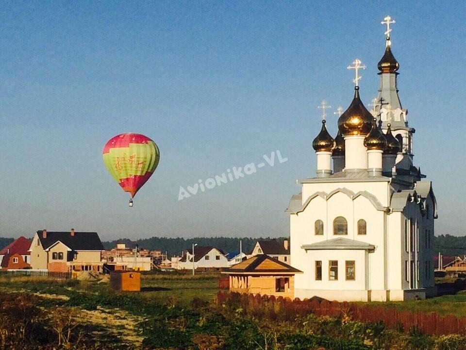 Экскурсия на воздушном шаре по храмам