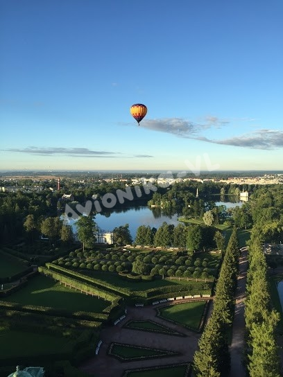 Полет на воздушном шаре на Санкт-Петербургом