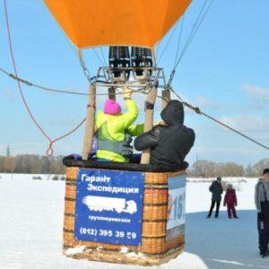 Полет на воздушном шаре с Екатериной Лариковой