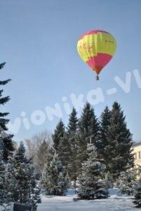 На какой высоте летают воздушные шары?