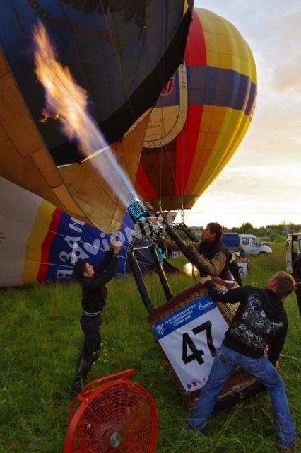 Поднимаем воздушный шар
