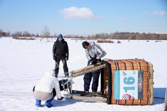 Проверка креплений корзины воздушного шара