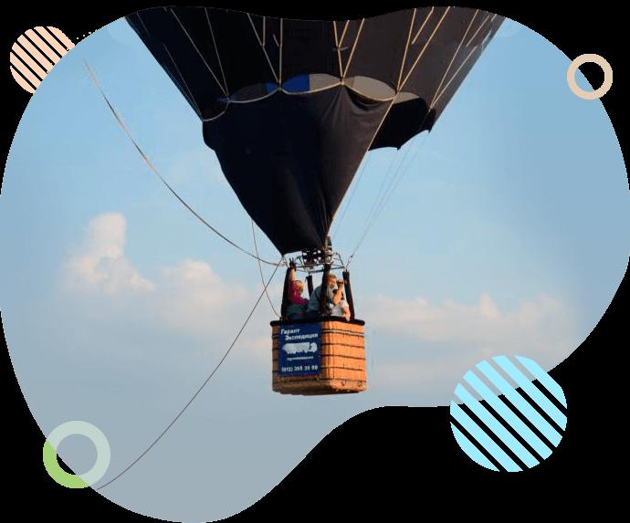 Привязной полет на воздушном шаре