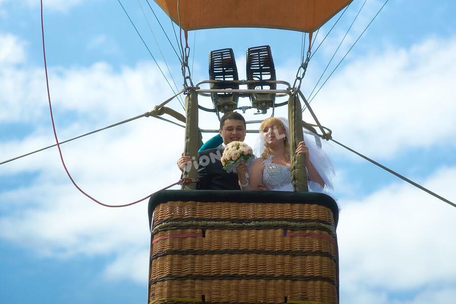 Свадебный подарок - полет на воздушном шаре от Авионики-ВЛ