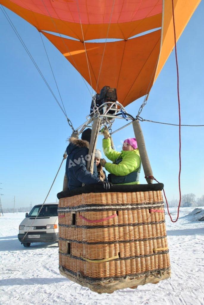 Полет на воздушном шаре на двоих