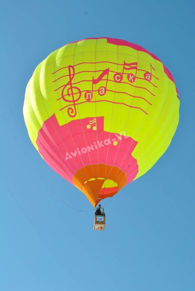 Полет воздушного шара Авионика-ВЛ