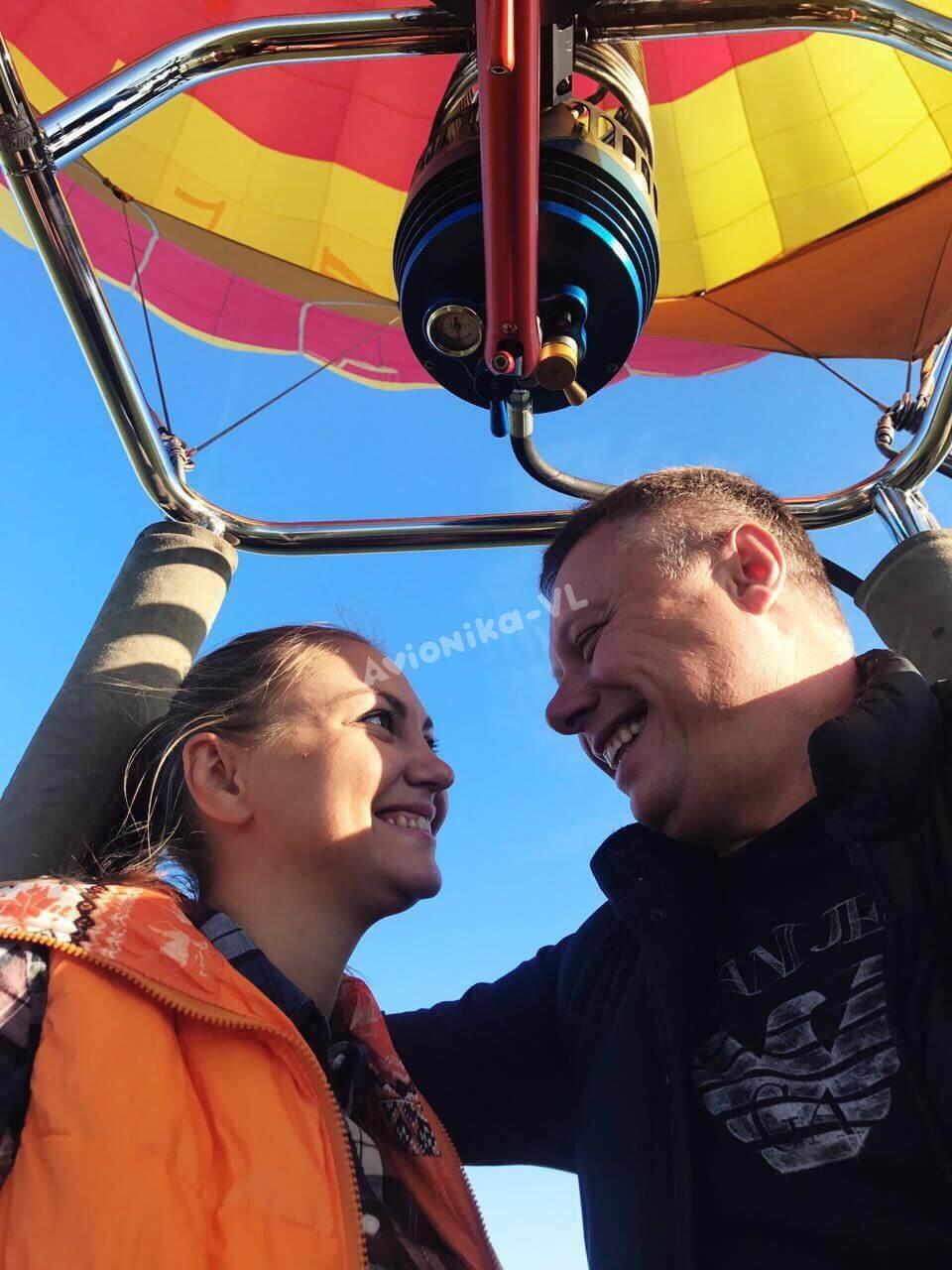 Подарочный полет на воздушном шаре