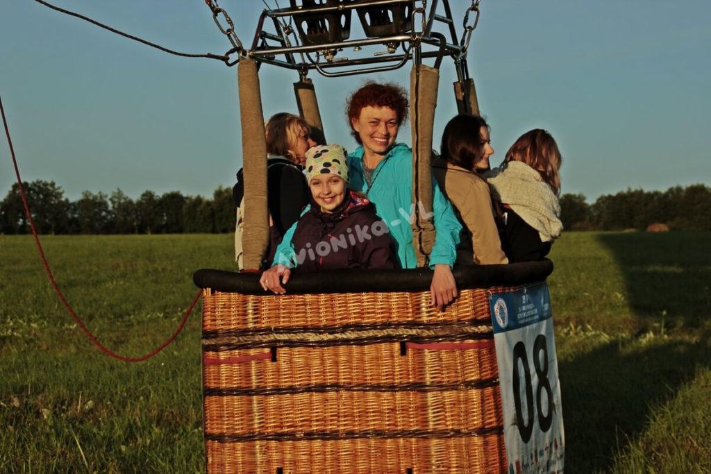 Полет на воздушном шаре на 4 человека