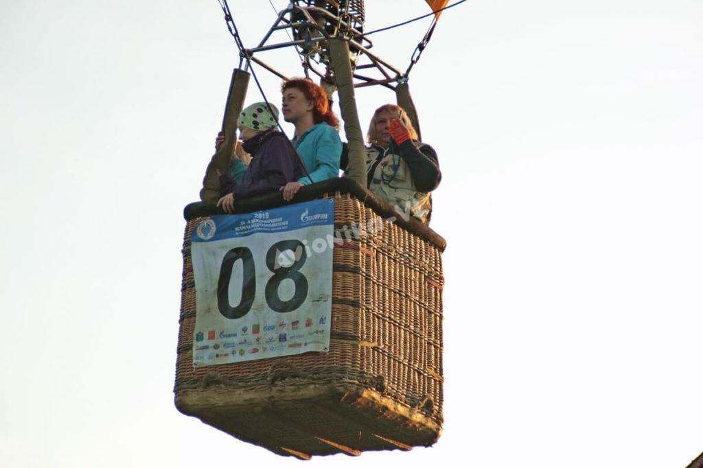 В корзине воздушного шара