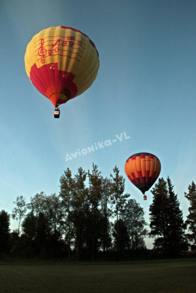 Летим на воздушном шаре в СПб