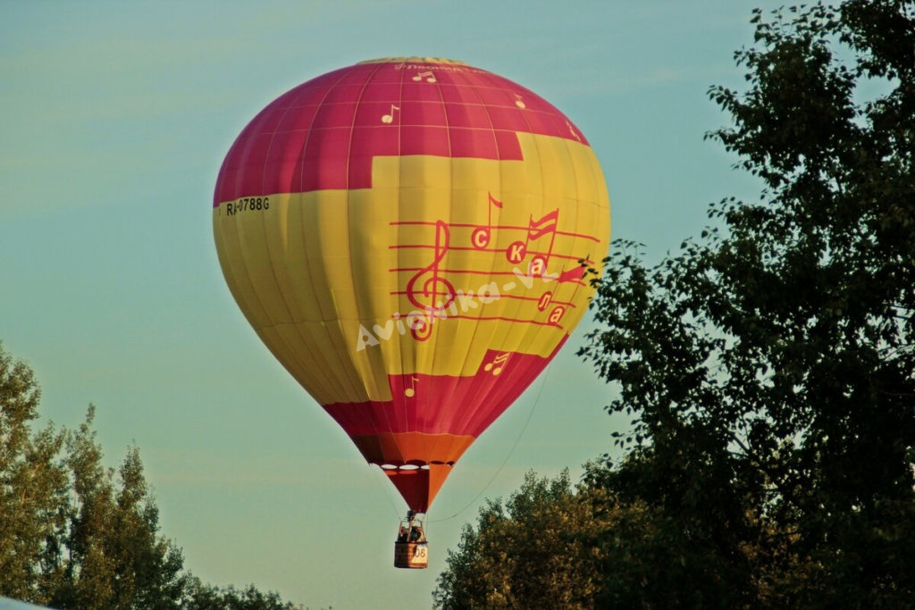 Полет на воздушном шаре в СПБ от Авионики-ВЛ