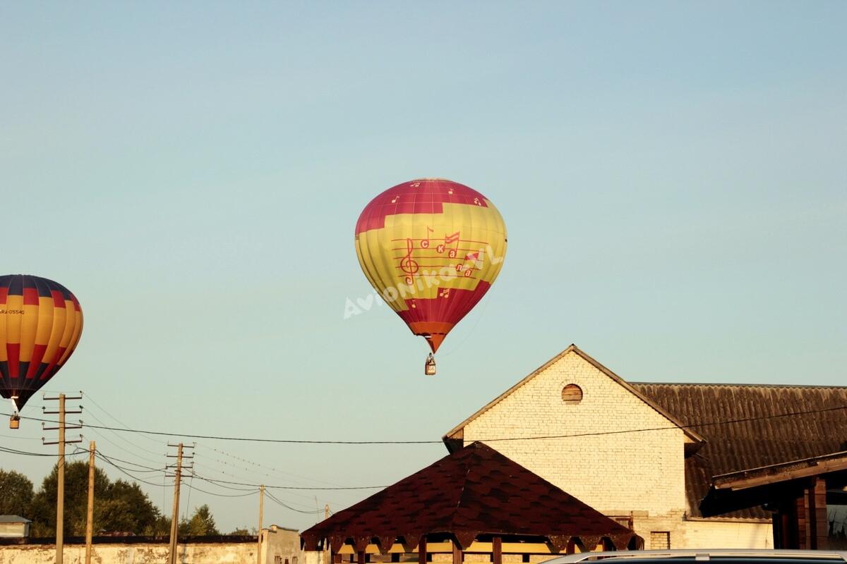 Полет на воздушном шаре над коттеджами от Авионики-ВЛ
